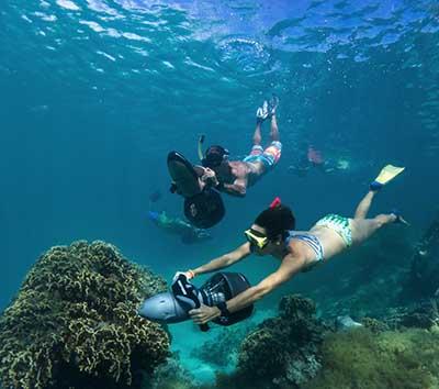 Scuba Snorkelling on the Cook Islands